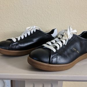 Coach Black and White AURORA athletic shoes 7.5